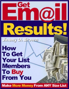 Ebook cover: 6 KEYS TO GETTING MORE EMAIL RESULTS