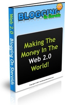 Ebook cover: Blogging on Steroids