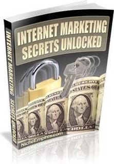 Ebook cover: Internet Marketing Secrets Unlocked