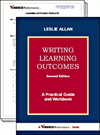 Ebook cover: Writing Learning Outcomes: A Practical Guide and Workbook