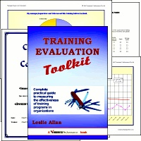 Ebook cover: Training Evaluation Tool Kit