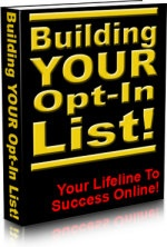 Ebook cover: Building Your Opt-In List