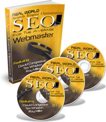 Ebook cover: Search Engine Optimisation For The Average Webmaster