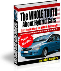 Ebook cover: The WHOLE TRUTH About Hybrid Cars