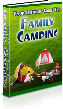 Ebook cover: Your Ultimate Guide to Family Camping