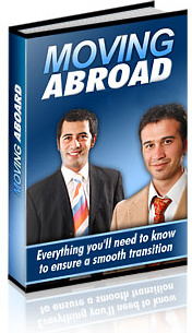 Ebook cover: The guide to Moving Abroad
