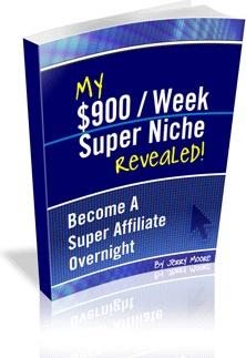 Ebook cover: My $900/Week Super Niche Revealed Guide