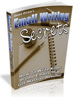 Ebook cover: Email Writing Secrets