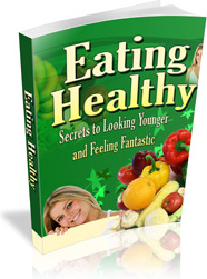 Ebook cover: Eating Healthy