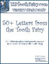 Ebook cover: Tooth Fairy Letters