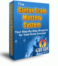 Ebook cover: The Guitar Scale Mastery System