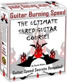 Ebook cover: Guitar Burning Speed