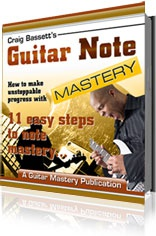 Ebook cover: Guitar Note Mastery