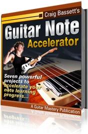 Ebook cover: Guitar Note Accelerator