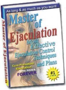 Ebook cover: Master Of Ejaculation