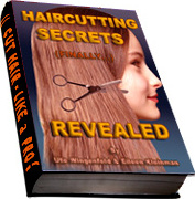 Ebook cover: HairCutting Secrets Revealed