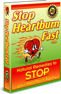 Ebook cover: Stop Heartburn Fast