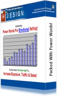 Ebook cover: Power Words For Emotional Selling