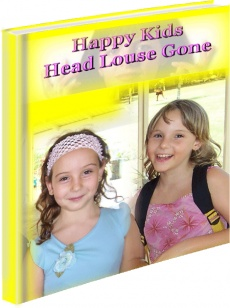 Ebook cover: Head Louse Gone