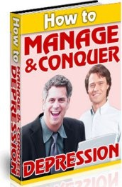 Ebook cover: How to Manage & Conquer Depression