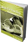 Ebook cover: 180 Gourmet Recipes for Your Dog