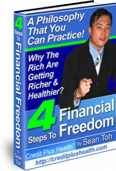 Ebook cover: Four Steps To Financial Freedom