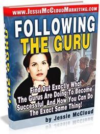 Ebook cover: Following The Guru
