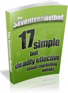 Ebook cover: The Seventeen Method