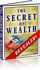 Ebook cover: The Secret Of Wealth Revealed!