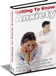 Ebook cover: Getting To Know Anxiety