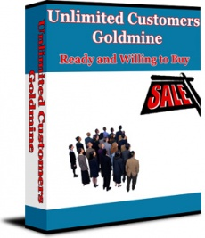 Ebook cover: Unlimited Customers Goldmine