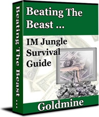 Ebook cover: Beating The Beast ... Goldmine