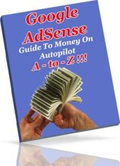 Ebook cover: Google AdSense A-toZ!