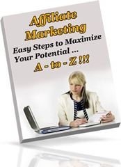 Ebook cover: Affiliate Marketing A-to-Z