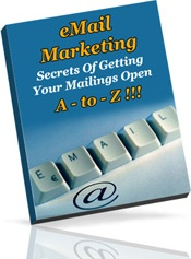 Ebook cover: eMail Marketing A-to-Z