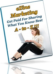 Ebook cover: eZine Marketing A-to-Z