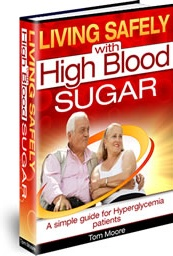 Ebook cover: Living Safely with High Blood Sugar