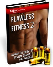 Ebook cover: Free Flawless Fitness Report