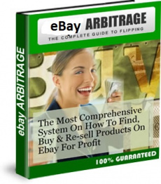 Ebook cover: eBay Arbitrage - The Complete Guide To Flipping