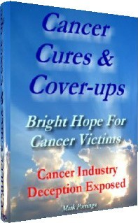 Ebook cover: Cancer Cures & Cover-ups