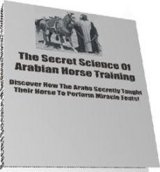 Ebook cover: Arabian Horse Training