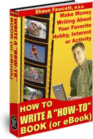 Ebook cover: How To Write A How To Book