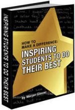 Ebook cover: How To Make A Difference: Inspiring Students To Do Their Best