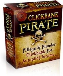 Ebook cover: Clickbank Pirate