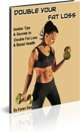 Ebook cover: Double Your Fat Loss
