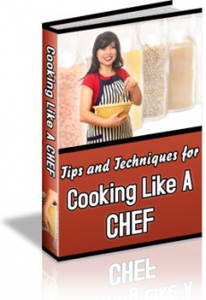 Ebook cover: 101 Cooking Tips