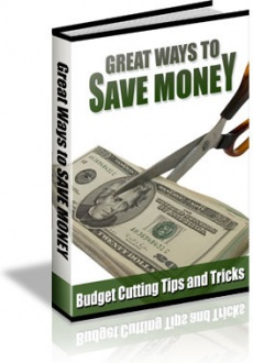 Ebook cover: 56 Money Saving Tips