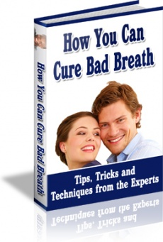 Ebook cover: 60 Ways to Cure Bad Breath