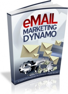 Ebook cover: Email Marketing Dynamo