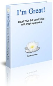 Ebook cover: I'm Great!Boost Your Self Confidence